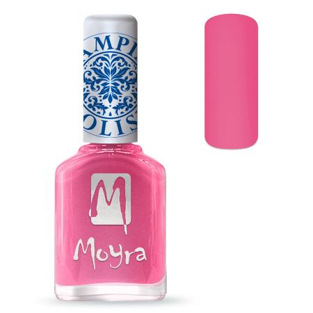 Nail Expert Moyra Stamping lak 01 Růžový