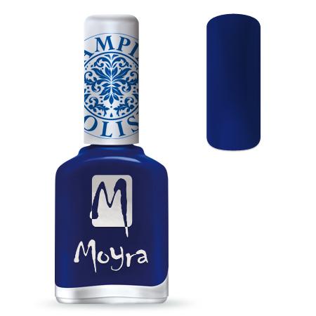 Nail Expert Moyra Stamping lak 05 Modrý