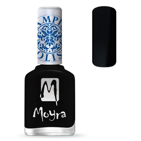 Nail Expert Moyra Stamping lak 06 Černý