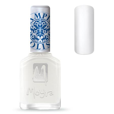 Nail Expert Moyra Stamping lak 07 Bílý