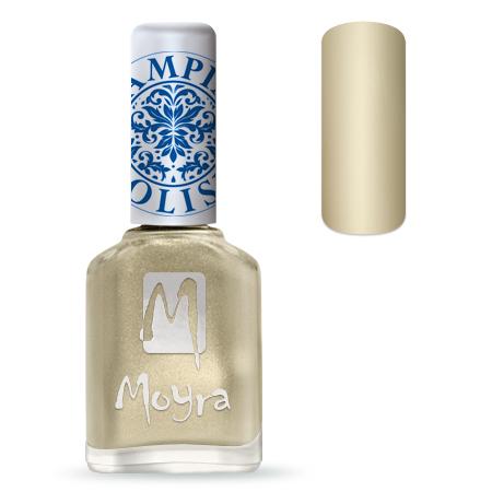 Nail Expert Moyra Stamping lak 09 Zlatý