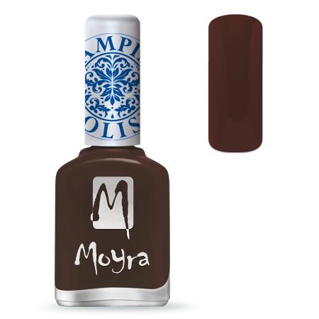 Nail Expert Moyra Stamping lak 13 Hnědý