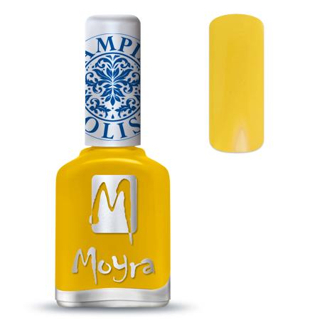 Nail Expert Moyra Stamping lak 12 Žlutý