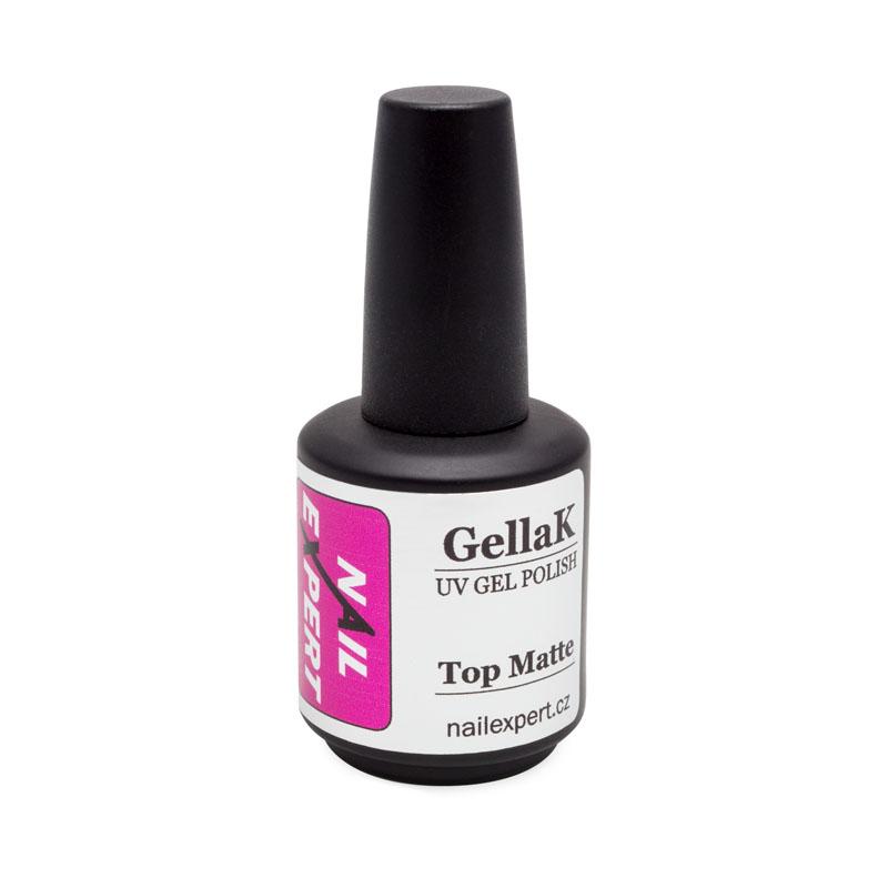 Nail Expert TOP MATTE vrchní UV gel 15ml