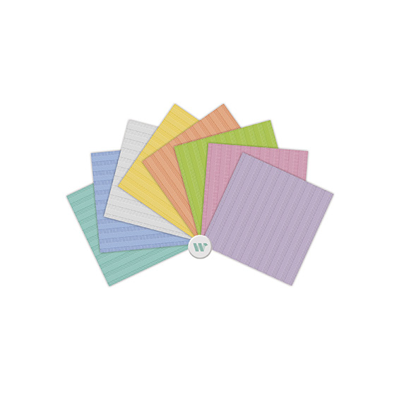 Nail Expert Papírová podložka, 10ks, meruňka
