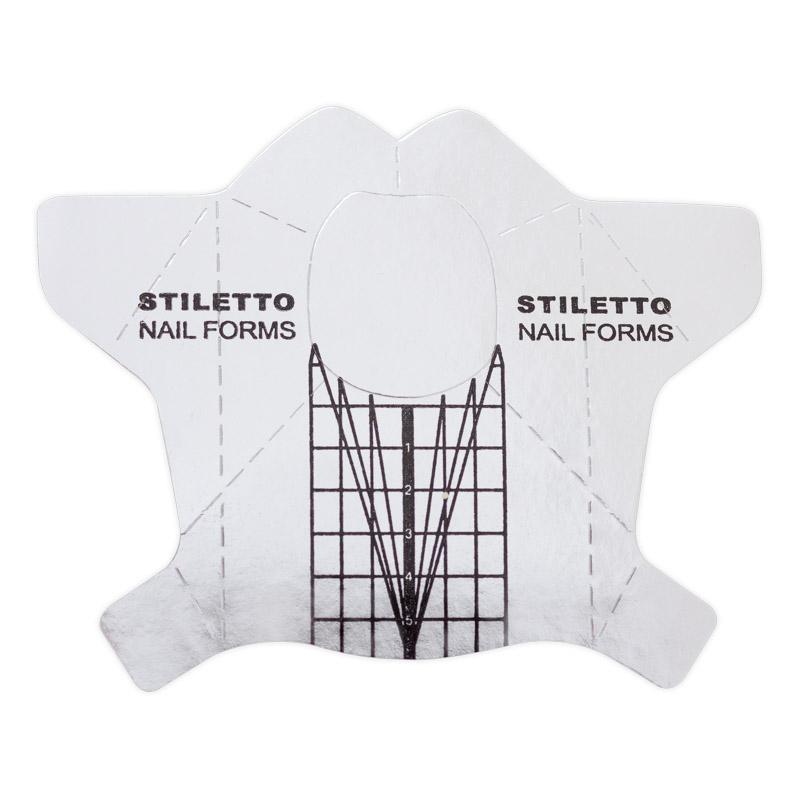 Nail Expert Šablony Stiletto 500 ks