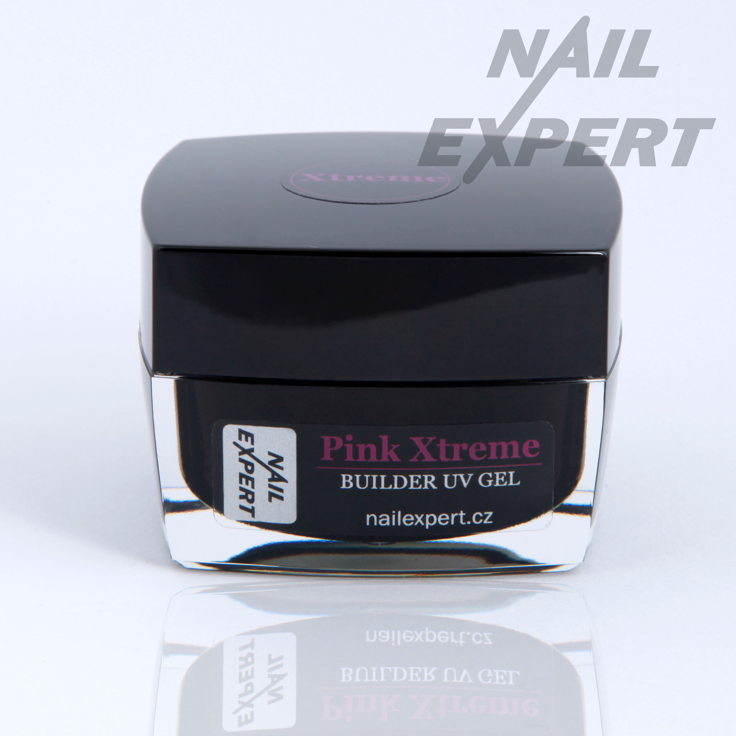 Nail Expert PINK XTREME modelovací UV gel 40ml
