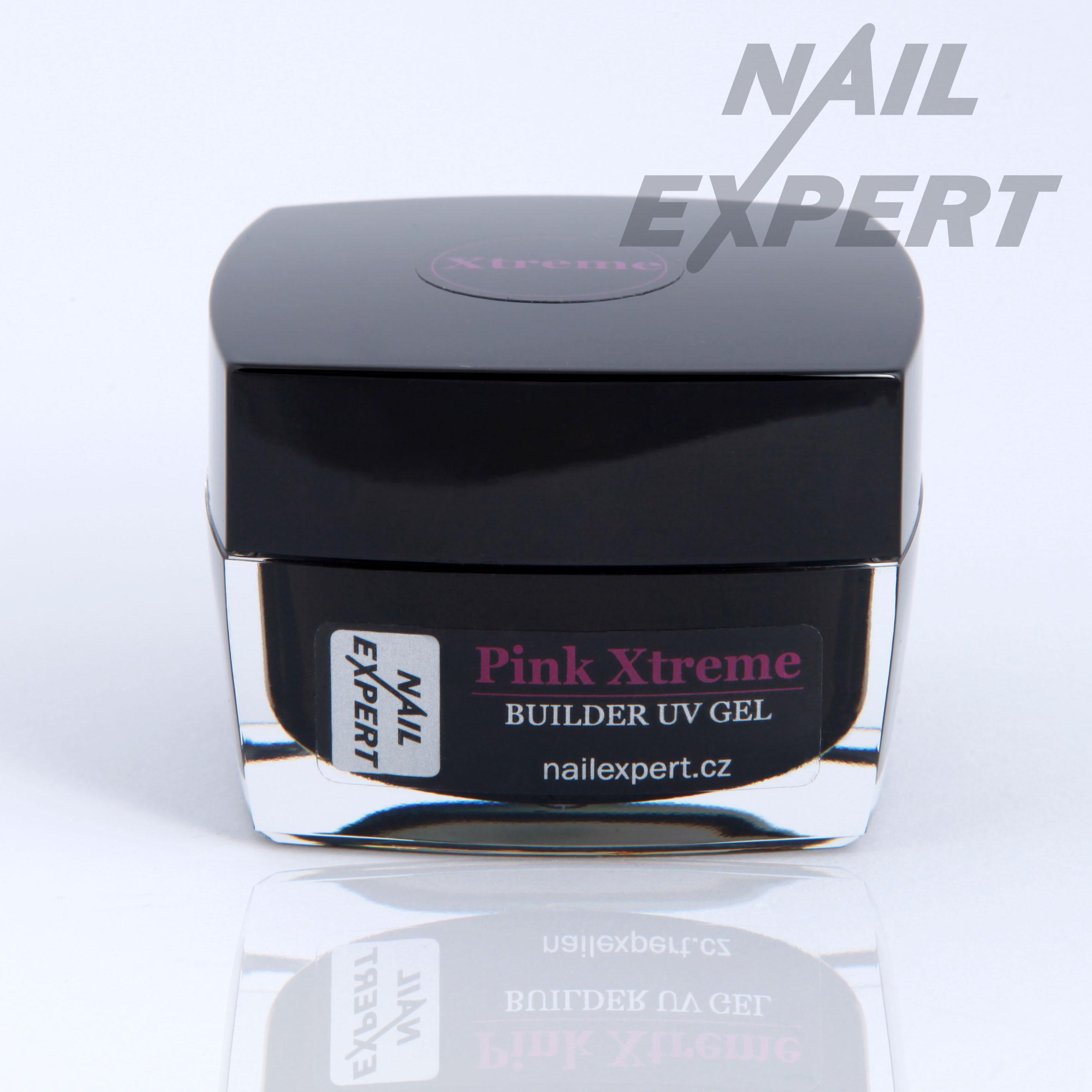 Nail Expert PINK XTREME modelovací UV gel100ml