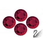 Swarovski Rhinestone-Červená