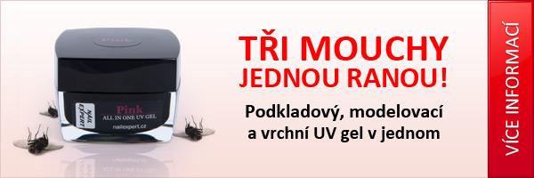 Jednofázový UV gel s perfektní přilnavostí a vysokým leskem